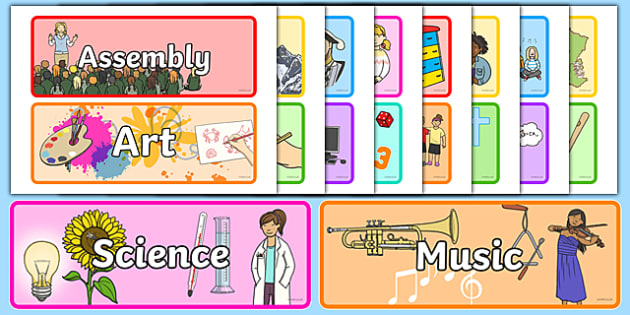 Subject Signs - subject signs, subject posters, subject labels, subjects, subject, subject display posters, subject display