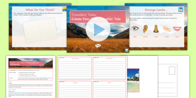 Traveller's Tales: Create Your Own Traveller Tale Lesson Pack - Travel ...