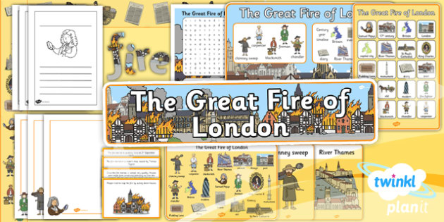 PlanIt - History KS1 - The Great Fire of London Unit Additional Resources