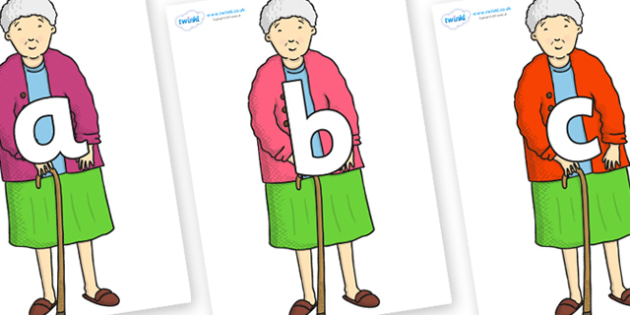 Phoneme Set on Harrys Nan to Support Teaching on Harry and the Bucketful of Dinosaurs - Phoneme set, phonemes, phoneme, Letters and Sounds, DfES, display, Phase 1, Phase 2, Phase 3, Phase 5, Foundation, Literacy