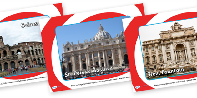 Rome Tourist Attraction Posters-rome, tourist attraction, posters, role play, role play posters, rome posters, tourist posters, rome role play