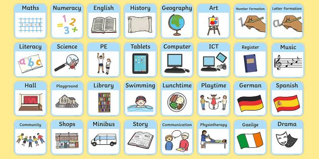 SEN Visual Timetable for School - sen visual timetable, school visual timetable, simple visual timetable, sen visual timetable cards, sen school day cards