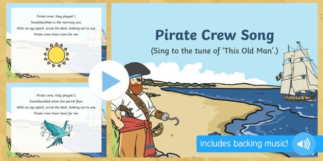 Pirate Crew Song PowerPoint