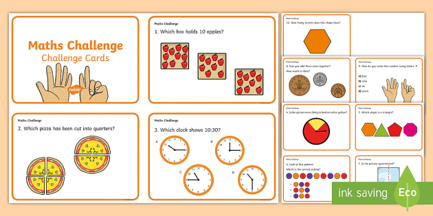 Year 1 Maths Challenge Cards - challenge cards, cards, year 1, KS1, KS1 maths challenge, numeracy, numeracy challenge, numeracy challenge cards, challenge game, superheroes, superheroes numeracy challenge