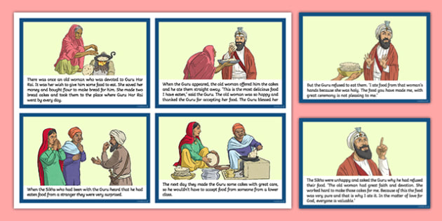 Holy Cakes Story Cards