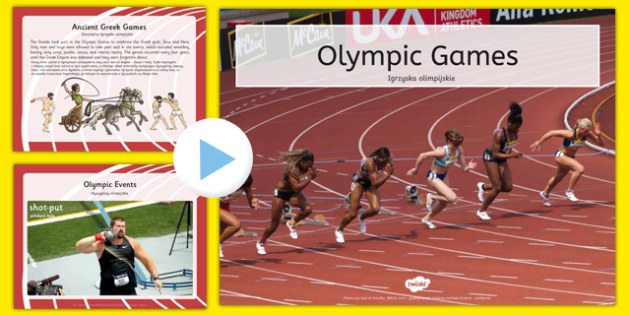 Olympics Information PowerPoint Polish Translation - polish, Brazil, Rio 2016, Modern, Ancient Greek, Olympic Rings, Olympic Torch