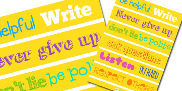 Inspirational Poster (A3) - poster, display poster, inspirational poster, classroom poster, classroom display poster, positive poster, yellow poster