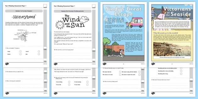 Year 2 Reading Assessment Term 2 - formative, summative, diagnostic, fiction, non-fiction