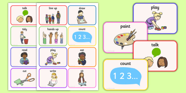 New EAL Starter Instructions Flash Cards - new, eal, starter, instructions, flash cards