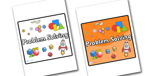 Problem Solving Area Sign - sign, display sign, area display sign, area sign, area, classroom areas, school areas, classroom area signs, topic signs, topic area signs