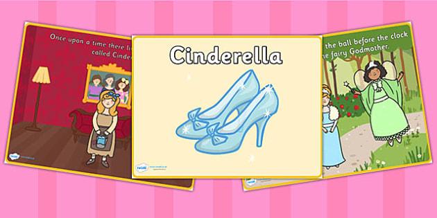 EYFS Cinderella Story PowerPoint - stories, story books, eyfs