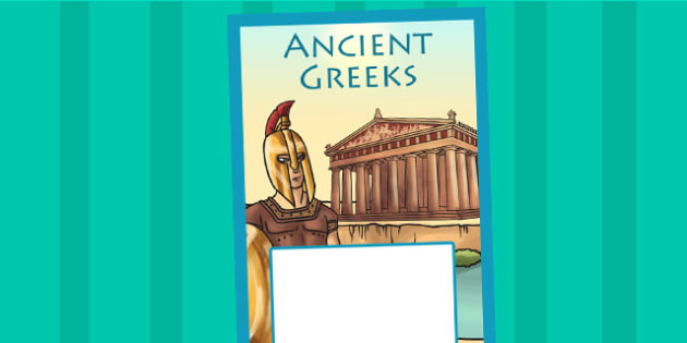 Ancient Greece Book Cover - ancient greeks, greeks, history