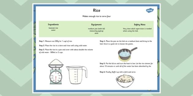 Global Food Rice Recipe - global food, rice, recipe, global, food
