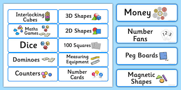 Maths Resource Editable Labels Blue - maths, resource, editable, labels, blue