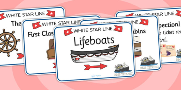 The Titanic Role Play Posters - titanic, role play, posters