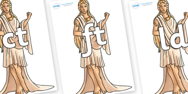 Final Letter Blends on Hera - Final Letters, final letter, letter blend, letter blends, consonant, consonants, digraph, trigraph, literacy, alphabet, letters, foundation stage literacy