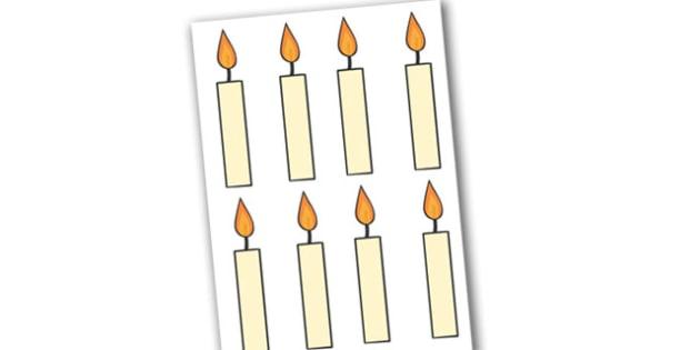Candles Editable  - candles, celebratioms, display, editable