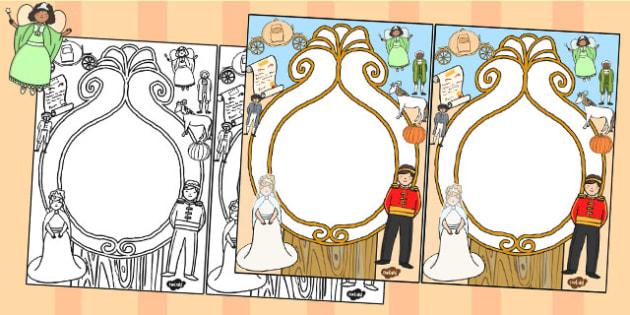 Cinderella Editable Notes from Teacher - cinderella, notes, edit
