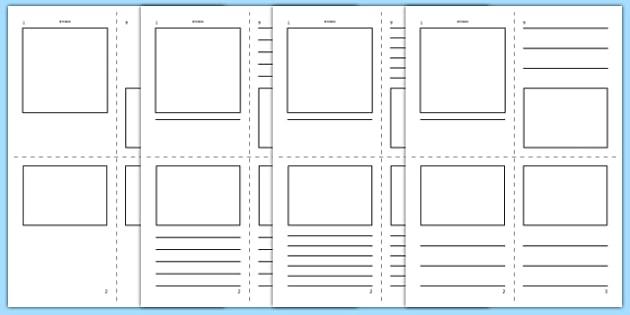 mini book template mini book booklet template templates. Black Bedroom Furniture Sets. Home Design Ideas