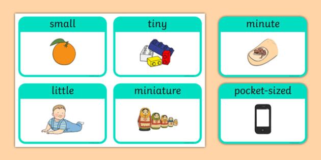 Diminutives Flashcards