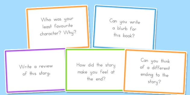 Guided Reading Question Cards - australia, guided reading, question
