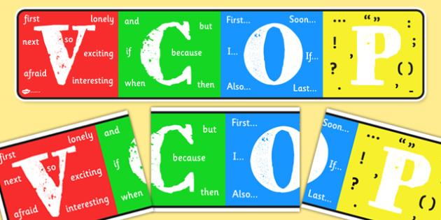 VCOP Display Banner - VCOP, display banner, display, banner, banner for display, VCOP banner, display header, header, banner for display, VCOP header