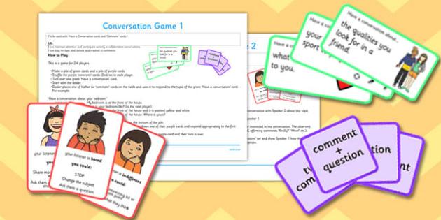 Conversation Game Pack - conversation game, pack, game, conversation