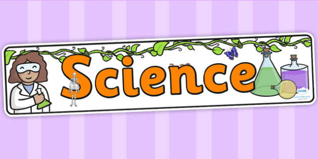 Science Display Banner EYFS - science, banner, eyfs, display