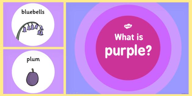What is Purple Colour PowerPoint - powerpoints, colours, purple