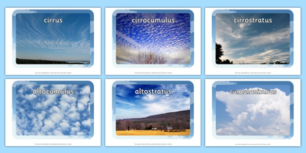 Cloud Display Photos - clouds, cloud photos, cloud display, different types of clouds, cloud classifications, cloud types, water cycle, ks2 geography