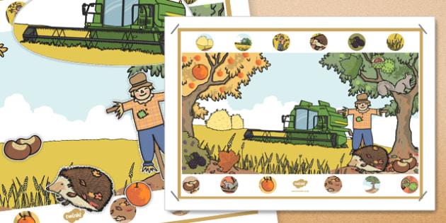 Autumn Interactive Poster - autumn, interactive, poster, display, season
