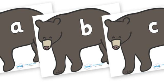 Phase 2 Phonemes on Grizzly Bears - Phonemes, phoneme, Phase 2, Phase two, Foundation, Literacy, Letters and Sounds, DfES, display