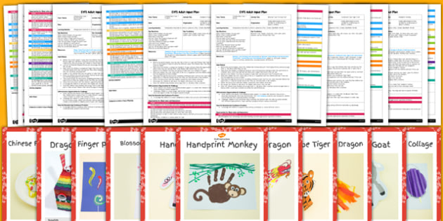 EYFS Chinese New Year Craft Activity and Planning Pack