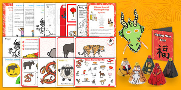 Chinese New Year SEN Resource Pack - chinese new year, sen, resource pack, resource, pack