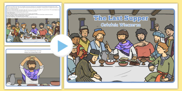 The Last Supper Story PowerPoint Polish Translation - polish, story, christianity, religion
