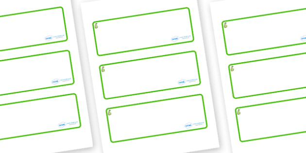 Pear Themed Editable Drawer-Peg-Name Labels (Blank) - Themed Classroom Label Templates, Resource Labels, Name Labels, Editable Labels, Drawer Labels, Coat Peg Labels, Peg Label, KS1 Labels, Foundation Labels, Foundation Stage Labels, Teaching Labels