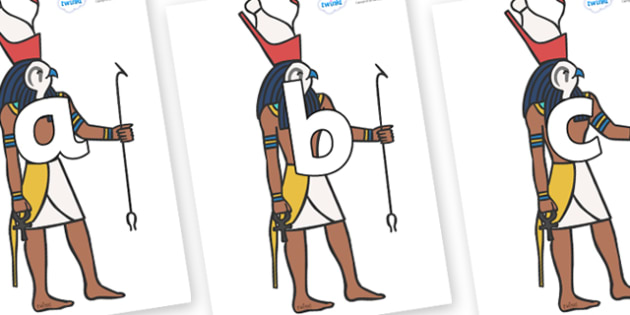 Phoneme Set on Egyptian Gods - Phoneme set, phonemes, phoneme, Letters and Sounds, DfES, display, Phase 1, Phase 2, Phase 3, Phase 5, Foundation, Literacy