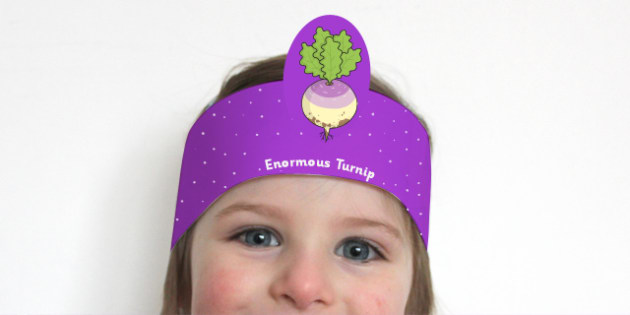 The Enormous Turnip Role Play Headbands - stories, role play