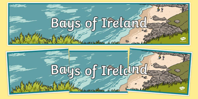 Bays of Ireland Display Banner-Irish