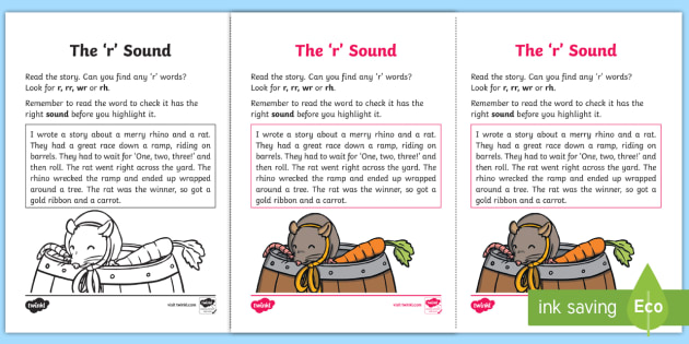 Northern Ireland Linguistic Phonics Stage 5 and 6 Phase 3b, 'r' Sound Activity Sheet - Linguistic Phonics, Stage 5, Stage 6, Phase 3b, Worksheet, Northern Ireland, 'r' sound, sound se