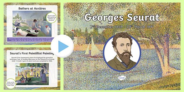 Georges Seurat PowerPoint
