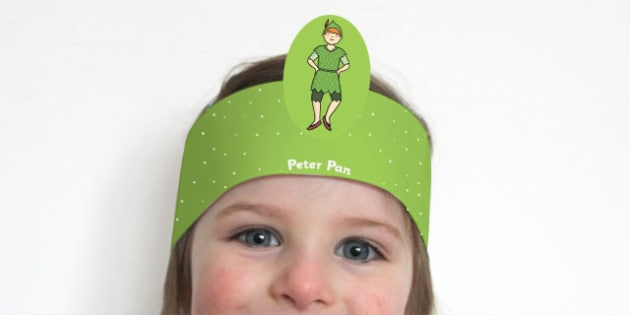 Peter Pan Role Play Headband - traditional, tales, head, wear