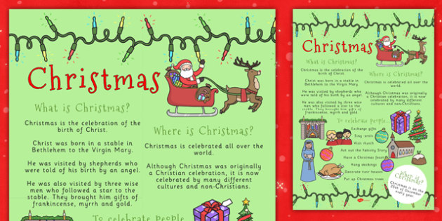 Christmas Where When What Poster - christmas, poster, christian