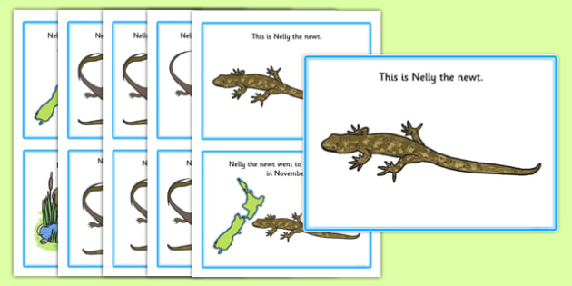 Initial n Story - speech sounds, phonology, phonological delay, phonological disorder, articulation, speech therapy, dyspraxia