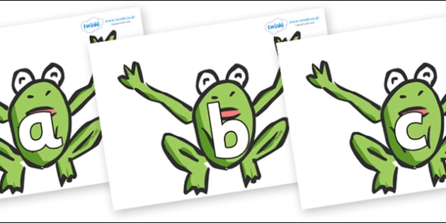 Phoneme Set on Frogs - Phoneme set, phonemes, phoneme, Letters and Sounds, DfES, display, Phase 1, Phase 2, Phase 3, Phase 5, Foundation, Literacy
