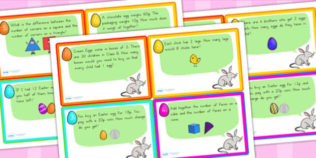 Easter Challenge Hunt Cards - easter, religion, RE, easter games
