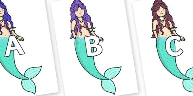 A-Z Alphabet on First Sister - A-Z, A4, display, Alphabet frieze, Display letters, Letter posters, A-Z letters, Alphabet flashcards