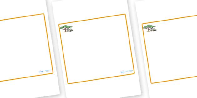 Safari Themed Editable Classroom Area Display Sign - Themed Classroom Area Signs, KS1, Banner, Foundation Stage Area Signs, Classroom labels, Area labels, Area Signs, Classroom Areas, Poster, Display, Areas