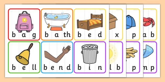 CVC CCVC And CVCC Word Puzzles - CVC, CCVC, CVCC, words, puzzles