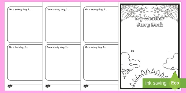 My Weather Story Activity Booklet